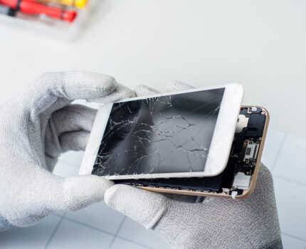 【江南駅前店】IPHONE修理のヴィジョン